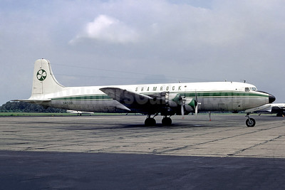 Shamrock Air Lines Douglas DC-6A N45001 (msn 43841) YIP (Christian Volpati Collection). Image: 948153.