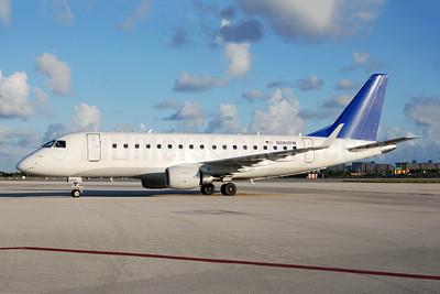 Shuttle America Embraer 170-100SE N860RW (msn 17000084) MIA (Bruce Drum). Image: 105012.
