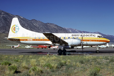 Sierra Pacific Airlines (2nd) Convair 340-32 N3416 (msn 47) MMH (Bruce Drum). Image: 103088.