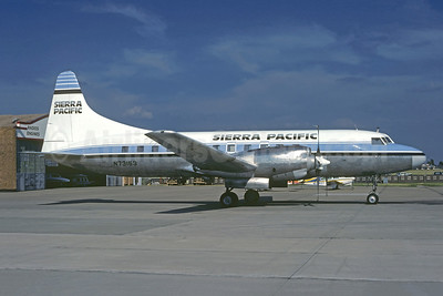 Sierra Pacific Airlines (3rd) Convair 580 N73153 (msn 179) OKC (Christian Volpati Collection). Image: 941355.
