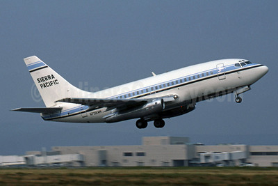 Sierra Pacific Airlines (3rd) Boeing 737-112 N708AW (msn 19771) FAI (Jay Selman). Image: 400218.