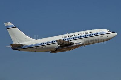 Sierra Pacific Airlines (3rd) Boeing 737-2Y5 N712S (msn 23038) RIV (Keith Burton). Image: 936657.