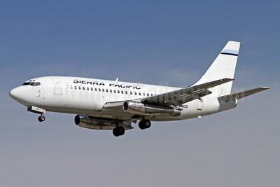 Sierra Pacific Airlines (3rd) Boeing 737-2TA N703S (msn 22529) SJC (Mark Durbin). Image: 926558.