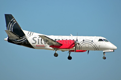 Silver Airways SAAB 340B N303AG (msn 414) FLL (Bruce Drum). Image: 104464.