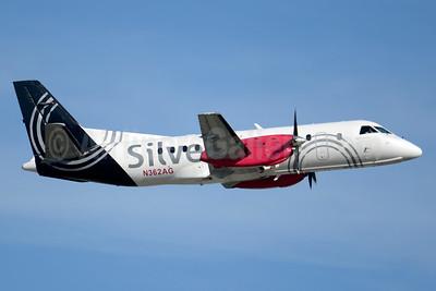 Silver Airways SAAB 340B N362AG (msn 438) FLL (Jay Selman). Image: 403545.