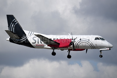 Silver Airways SAAB 340B N344AG (msn 444) MIA (Bruce Drum). Image: 104305.