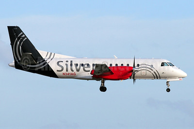 Silver Airways SAAB 340B N341AG (msn 437) FLL (Brian McDonough). Image: 910784.