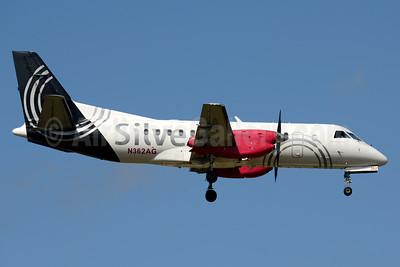 Silver Airways SAAB 340B N362AG (msn 438) PBI (Jay Selman). Image: 403546.
