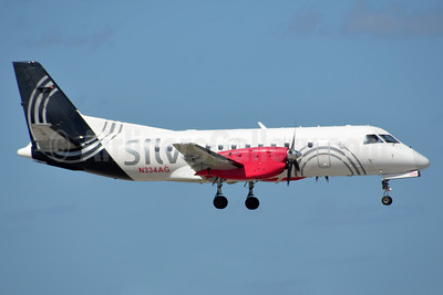 Silver Airways SAAB 340B N334AG (msn 434) FLL (Bruce Drum). Image: 104543.