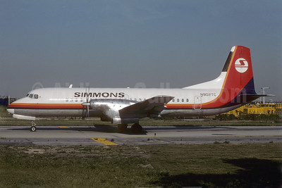 Simmons Airlines NAMC YS-11-125 N902TC (msn 2042) ORD (Dave Campbell). Image: 907865.