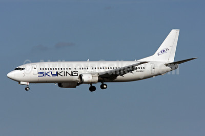 Sky King (Sky King, Inc.) Boeing 737-4Q8 N916SK (msn 24706) MIA (Brian McDonough). Image: 905916.