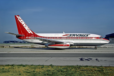 Skybus (1st) Boeing 737-2X6C N671MA (msn 23122) MDW (Dave Campbell). Image: 928424.