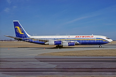 Skyworld Airlines Boeing 707-323B N709PC MSP (Christian Volpati Collection). Image: 931337.