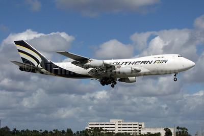 Southern Air (2nd) Boeing 747-281F N758SA (msn 23138) MIA (Jay Selman). Image: 402199.