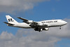 Southern Air (2nd) Boeing 747-206B (F) N748SA (msn 21110) MIA (Bruce Drum). Image: 101198.