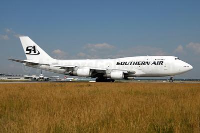 Southern Air (2nd) Boeing 747-206B (F) N748SA (msn 21110) FRA (Ton Jochems). Image: 954070.