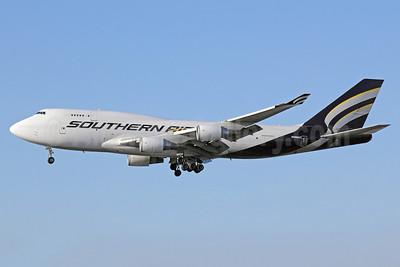 Southern Air (2nd) Boeing 747-4F6 (F) N469AC (msn 27602) LAX (Michael B. Ing). Image: 911416.