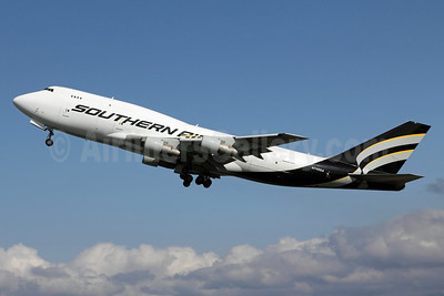 Southern Air (2nd) Boeing 747-3B5 (SF) N749SA (msn 24194) ANC (Michael B. Ing). Image: 905218.