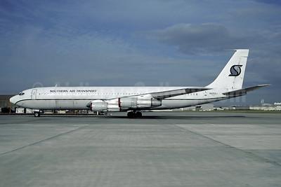 Southern Air Transport (1st) Boeing 707-369C N525SJ (msn 20084) CDG (Christian Volpati). Image: 948291.