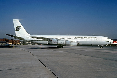 Southern Air Transport (1st) Boeing 707-369C N525SJ (msn 20084) ATL (Christian Volpati Collection). Image: 948290.