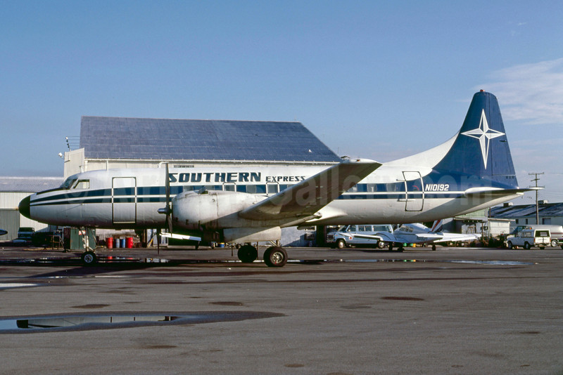 Southern Express Convair 440-59 N10192 (msn 494) MIA (Bruce Drum). Image: 103382.