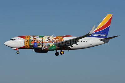 Southwest Airlines Boeing 737-7H4 WL N945WN (msn 36660) (Florida One) HOU (Jarrod Wilkening). Image: 955404.