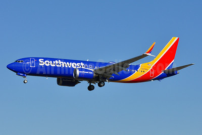 Southwest Airlines Boeing 737-8 MAX 8 N8708Q (msn 42566) BWI (Tony Storck). Image: 940197.