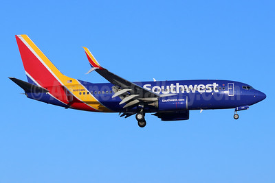 Southwest Airlines Boeing 737-7H4 SSWL N969WN (msn 41777) SNA (Michael B. Ing). Image: 948229.