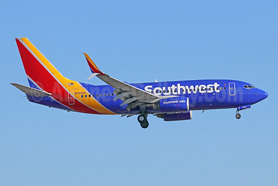 Southwest Airlines Boeing 737-79P SSWL N7860A (msn 29362) LAX (Michael B. Ing). Image: 942982.