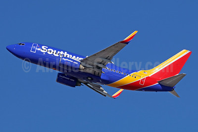 Southwest Airlines Boeing 737-7H4 WL N7832A (msn 30657) LAX (Michael B. Ing). Image: 935931.