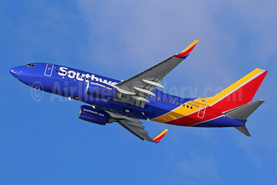 Southwest Airlines Boeing 737-7Q8 WL N7876A (msn 29355) LAX (Michael B. Ing). Image: 936590.