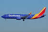 Southwest Airlines  Boeing 737-800 SSWL N8614F (msn 36975) LAX (Michael B. Ing). Image: 938517.
