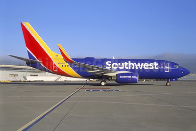 Southwest Airlines Boeing 737-7H4 WL N761RR (msn 27875) SFO (Jacques Guillem Collection). Image: 940061.