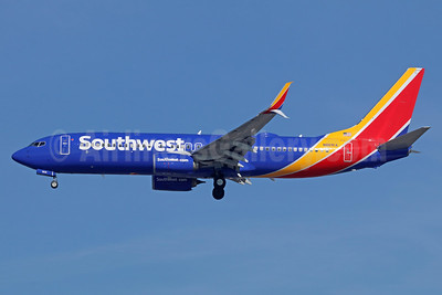Southwest Airlines  Boeing 737-8H4 SSWL N8691A (msn 36945) LAX (Michael B. Ing). Image: 941024.