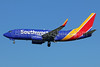 Southwest Airlines Boeing 737-7H4 WL N914WN (msn 36622) LAX (Michael B. Ing). Image: 938511.