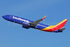 Southwest Airlines  Boeing 737-8H4 SSWL N8661A (msn 36906) LAX (Michael B. Ing). Image: 938496.