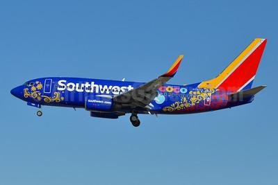 Southwest Airlines Boeing 737-7L9 WL N7816B (msn 28009) (Disney Pixar Coco) BWI (Tony Storck). Image: 939776.