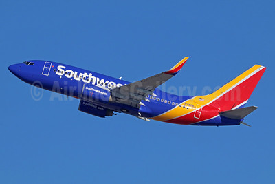 Southwest Airlines Boeing 737-7CT WL N7828A (msn 33697) LAX (Michael B. Ing). Image: 936577.
