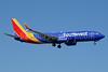 Southwest Airlines  Boeing 737-800 SSWL N8515X (msn 36943) PBI (Jay Selman). Image: 403574.