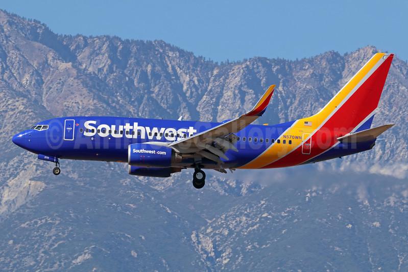 Southwest Airlines Boeing 737-7CT WL N570WN (msn 33657) ONT (Michael B. Ing). Image: 939562.