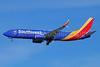 Southwest Airlines Boeing 737-8H4 SSWL N8652B (msn 36971) LAX (Michael B. Ing). Image: 925688.
