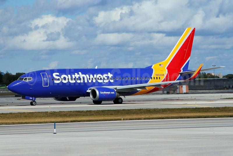 Southwest Airlines Boeing 737-3H4 HL N654SW (msn 28399) FLL (Brian McDonough). Image: 926075.