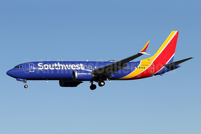 Southwest Airlines Boeing 737-8 MAX 8 N8708Q (msn 42566) BWI (Brian McDonough). Image: 939775.