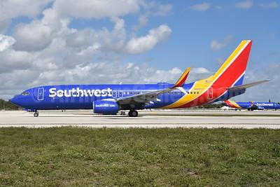 Southwest Airlines  Boeing 737-800 SSWL N8567Z (msn 36928) FLL (Bruce Drum). Image: 105006.