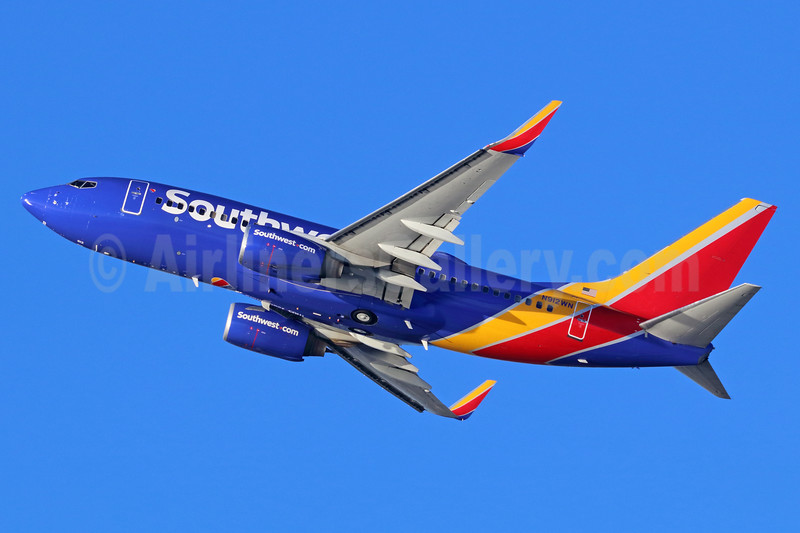 Southwest Airlines Boeing 737-7H4 WL N912WN (msn 36621) LAX (Michael B. Ing). Image: 938666.