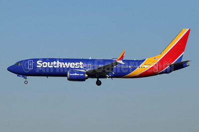 Southwest Airlines Boeing 737-8 MAX 8 N8720L (msn 42547) LAX (Michael B. Ing). Image: 945526.