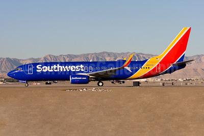 Southwest Airlines Boeing 737-8H4 SSWL N8328A (msn 38818) LAS (Gunter Mayer). Image: 953346.
