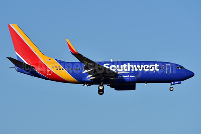 Southwest Airlines Boeing 737-7L9 WL N7830A (msn 28008) MCO (Ken Petersen). Image: 936589.