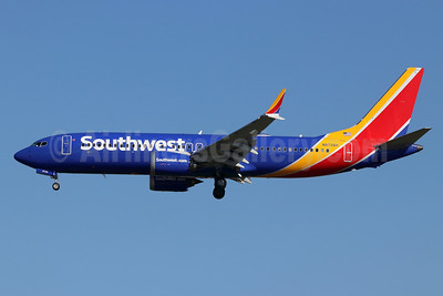 Southwest Airlines Boeing 737-8 MAX 8 N8726H (msn 42573) LAX (Michael B. Ing). Image: 945954.