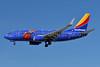 Southwest Airlines Boeing 737-7H4 WL N409WN (msn 27896) (Triple Crown One) LAS (Ken Petersen). Image: 941201.